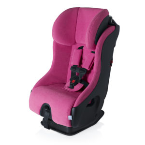 CLEK Fllo Compact Convertible Carseat Flamingo Pink Black
