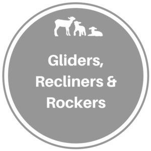 Gliders, Recliners, Rocking Chairs & Ottomans
