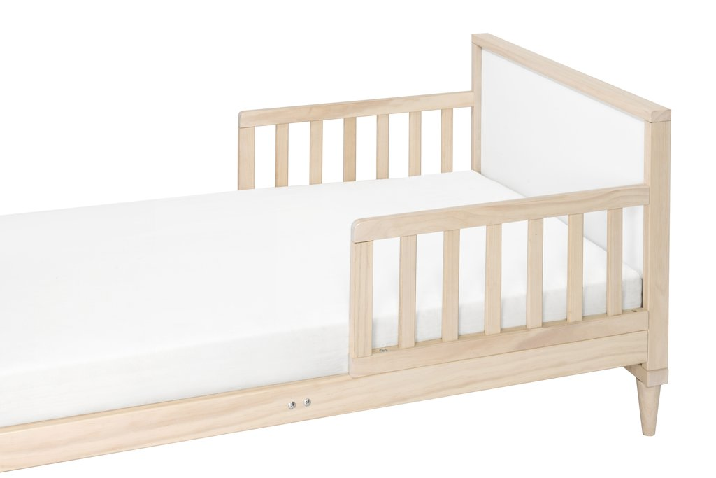 Babyletto Ziggy Toddler Bed Washed Natural White Your
