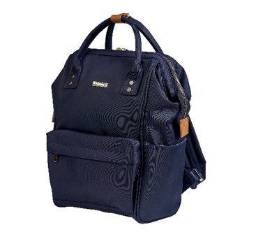 8ee6b136ad3fb Bababing Mani Backpack Changing Bag - Navy
