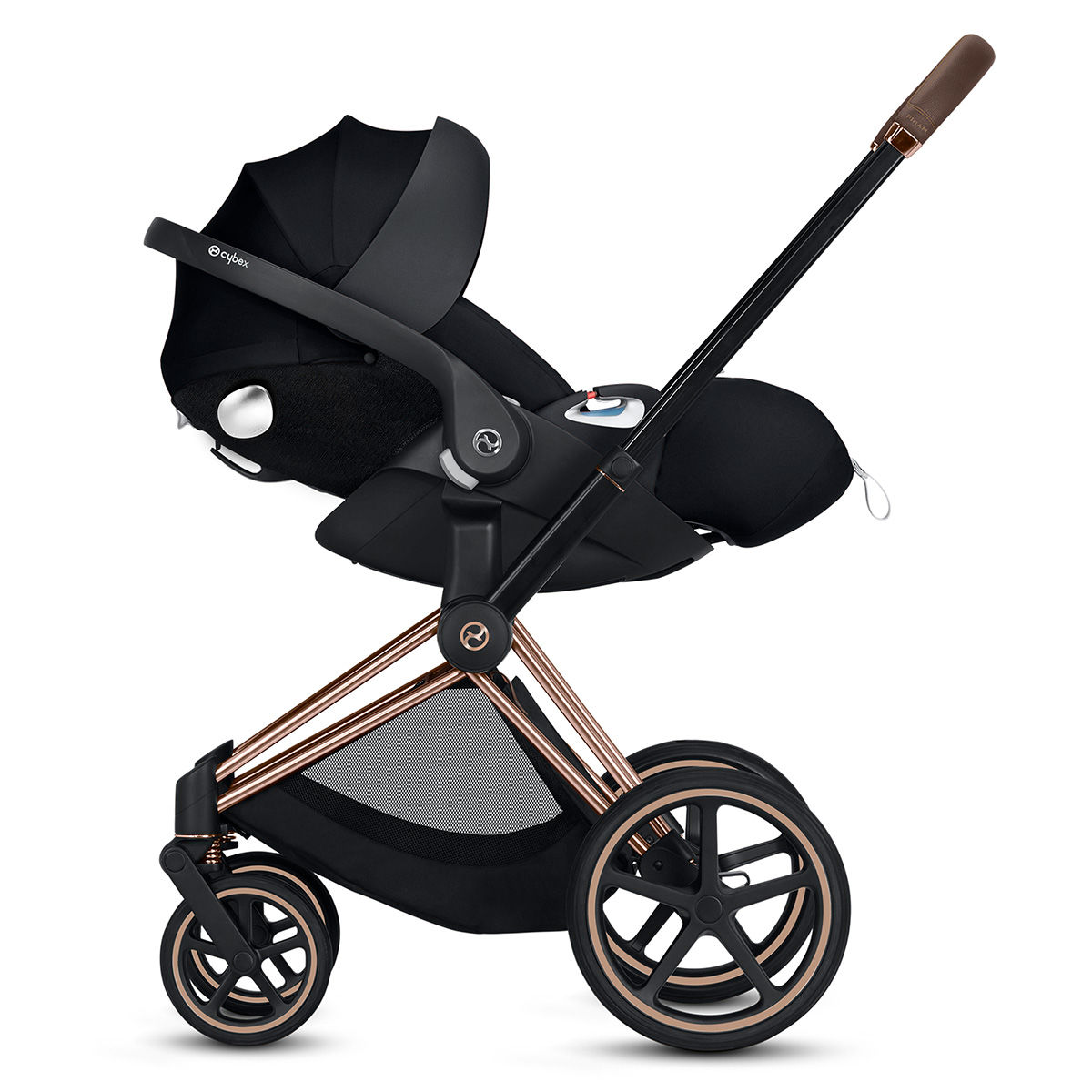 Cybex PRIAM Stroller Chrome & Black-Premium Black | Your ...